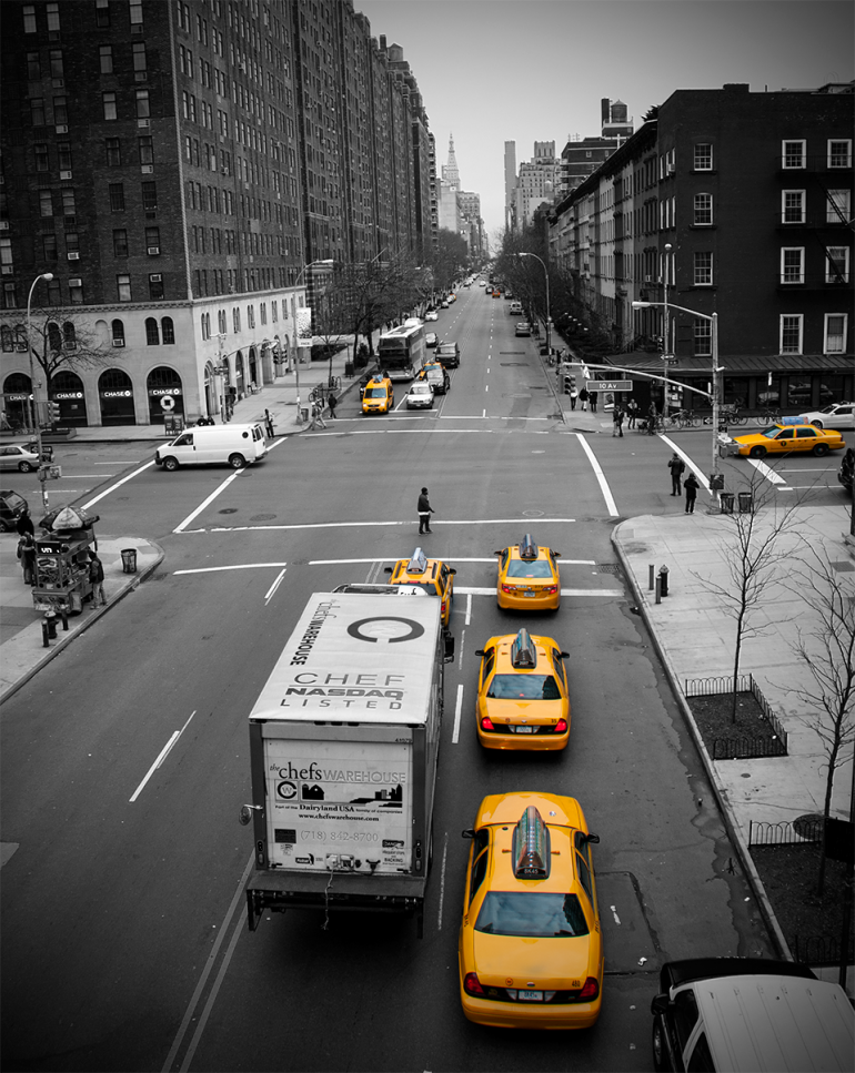 New York Taxi City Series